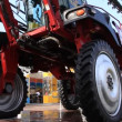 Stock Video: Agricultural machinery
