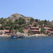Stock Video: Voyage. Turkey Kekova-SimenRegion - ApolloniWestern Taurus