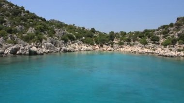 Voyage. Turkey Kekova-Simena Region - Apollonia Western Taurus — Stock Video