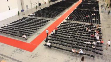 Presentation hall — Stock Video