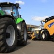 Stockvideo: Agricultural machinery