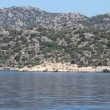 Stock Video: Voyage. Turkey Kemer Kekova-SimenRegion Western Taurus