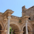 Stock Video: View of Hadrian's Gate in Antalya, Turkey