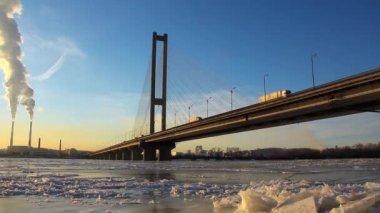 Moskovskyi bron i kiev, ukraina — Stockvideo