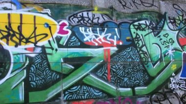 Graffiti — Stock Video