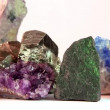 Stock Video: Close up of semi-precious stones