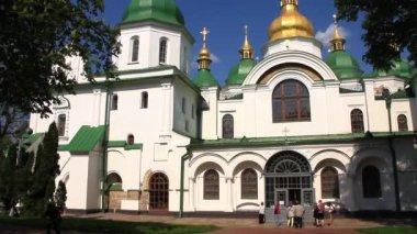 ウクライナ、キエフの聖ソフィア大聖堂 — ストックビデオ