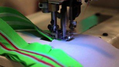 Stitching machine — Stock Video