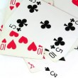 Pack of playing cards — Stock Video #20288663