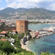 Stock Video: Old fortress Alanya, Turkey