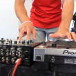 Stock Video: Disc jockey