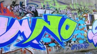 Graffiti — Vídeo de stock
