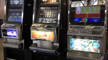 Arcade machines — Stock Video