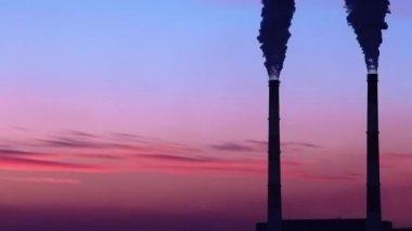 Electropower estación — Vídeo de stock