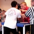 Stock Video: Arm-wrestling