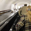 Stock video: Escalator