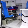 Ambulance car cabin — Stock Video #20292913