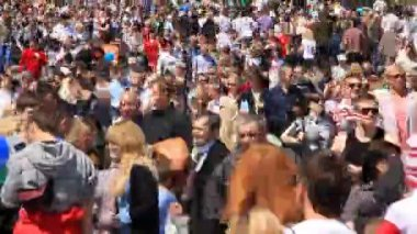 Crowd of — Stock Video