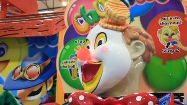 Cheerful clown — Stock Video