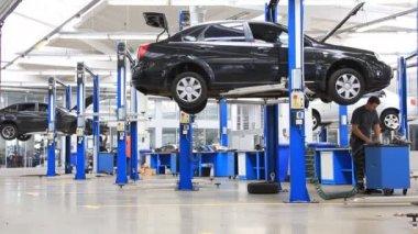 Auto service — Stock Video