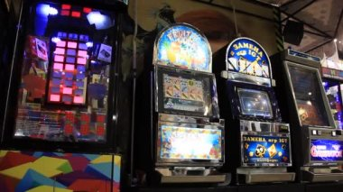 Arcade machines — Stock Video
