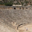 Ancient Greek-Roman amphitheatre. Myra old name - Demre Turkey — Stock Video