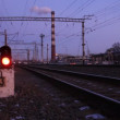 Stock Video: Railway