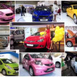 Automotive show montage — Stock Video