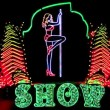 Strip show — Video Stock