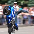 Motorcyclist — Stockvideo #21492503