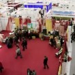 Stock Video: Exhibition hall