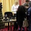 Stock Video: Presentation and degustation of wine