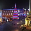 Stock Video: New Years Day in Kiev, Ukraine