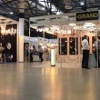 Stock Video: Illuminating equipment exhibition