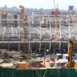 Reconstruction of republican football stadium for EURO 2012 in Kiev, Ukraine — Stock Video #21495607