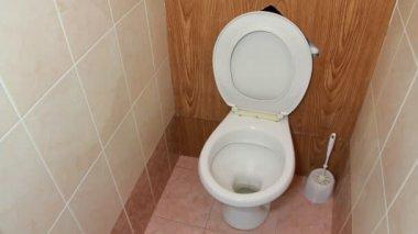 Toilet facility — Stock Video