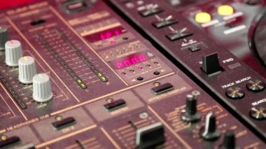 Mixing console — Stock Video