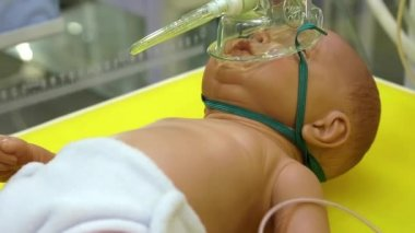 Neonatal complex — Stock Video