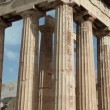 Stock Video: Parthenon ancient temple in AtheniAcropolis, Greece