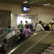 People inside Syntagma metro station — Stock Video #39406971
