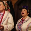 Ukrainian folk song — Stock Video