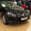 Mercedes-Benz E-class at automotive-show — Stock Video