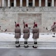 Greek national guards — Stock Video #41355287