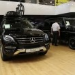Mercedes-Benz M-class at automotive-show — Stock Video