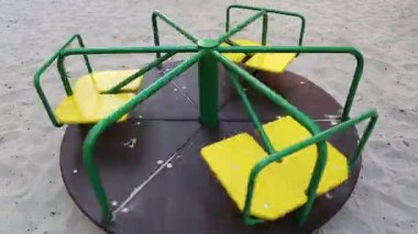 Merry-go-round — Stock Video