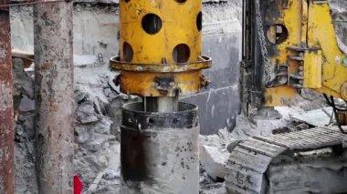 Drilling wells — Stock Video
