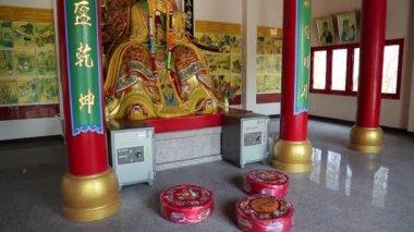 Buddhist temple — Stock Video
