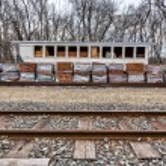 Old, Historic Train Station — Stock Photo #19072603