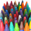 Crayon background — Stock Photo