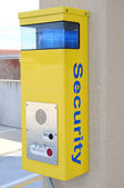 Security call box — Stock Photo